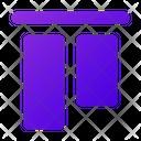 Vertical Align Top Vertical Align Icon