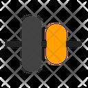Vertical Alignment Alignment Vertical Align Center Icon