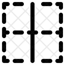 Vertical Center Border Icon