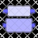 Vertical-distribute-center Icon