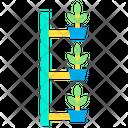 Vertical Farming Hydroponics Farming Icon