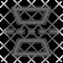 Mirror Vertical Flip Icon