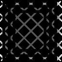 Vertical Designer Frame Icon
