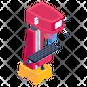 Cnc Cnc Milling Machine Vertical Milling Machine Icon
