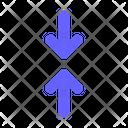 Vertical Minimize Minimize Resize Icon