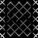 Vertical Rectangle Photo Icon