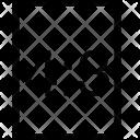 Vertical Rectangle Ratio Icon