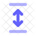 Vertical Resize Resize Arrows Icon