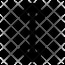 Arrow Scale Lengthen Icon