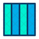 Verticle Grids Icon