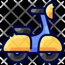 Vespa Buke Transportation Icon