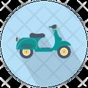 Scooter Bike Vespa Vespa Scooter Icon