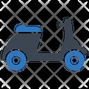 Scooter Bike Vespa Icon
