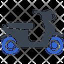 Scooter Scooty Vespa Icon