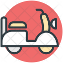 Vespa Scooter Motorcycle Icon