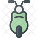 Vespa Moped Motorcycle Icon