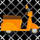 Vespa Scooter Icon