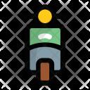 Vespa Bike Motorcycle Icon