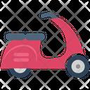 Scooter Vespa Transport Icon