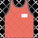 Vest Innerwear Clothing Icon