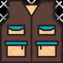 Vest Safety Mining Vest Icon