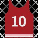 Vest Sports Shirt Icon