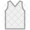 Vest V Neck Acrylic Icon