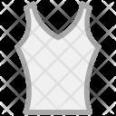 Vest Neck Mens Icon