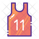 Vest Marathon Sports Icon