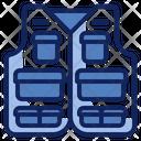 Vest Jacket Clothing Icon