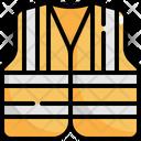 Vest Construction Worker Icon
