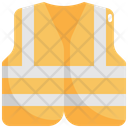Vest Cloth Jacket Icon