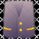 Vest Sleeveless Clothing Icon