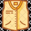 Vest Garment Sleeveless Icon