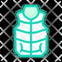 Vest Clothes Color Icon