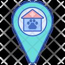 Vet Clinic Address Animal Clinic Location Veterinary Location Icon