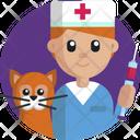 Vet Doctor Vet Pet Icon