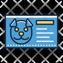 Vet Id Card Icon