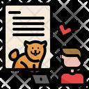 Vet Online Vet Consultation Pet Care Veterinarian Services Online Consultation Pet Cat Icon