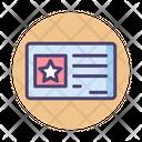 Veteran Benefits Benefits Certificate Icon
