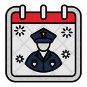 Veteran Day Calendar Icon