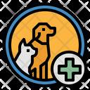Veterinarians Clinic Hospital Icon
