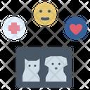 Veterinary Health Pet Therapy Icon