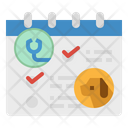 Calander Veterinary Docter Icon