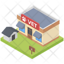 Hospital Pet Clinic Vet Hospital Icon