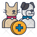 Veterinary Medicine Dog Clinic Dog Hospital Icon