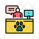 Pet Shelter Worker Icon