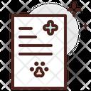 Veterinary Report Icon
