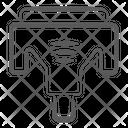 Lcd Cable Gpu Vga Icon