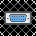Vga Computer Connection Icon